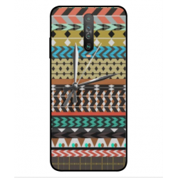 Xiaomi Poco X2 Mexican Embroidery With Clock Cover