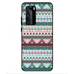 Coque Broderie Mexicaine Pour Huawei P40 Pro
