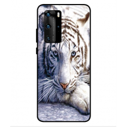 Huawei P40 Pro White Tiger Cover