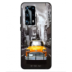 Coque New York Taxi Pour Huawei P40 Pro Plus