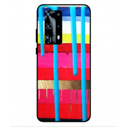 Huawei P40 Pro Plus Brushstrokes Cover