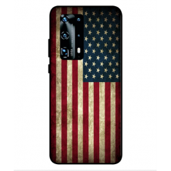Huawei P40 Pro Plus Vintage America Cover