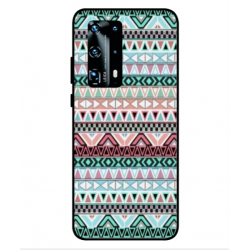 Huawei P40 Pro Plus Mexican Embroidery Cover