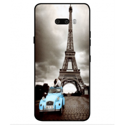 LG G8X ThinQ Vintage Eiffel Tower Case