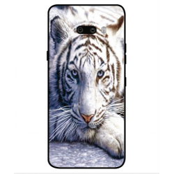 LG G8X ThinQ White Tiger Cover