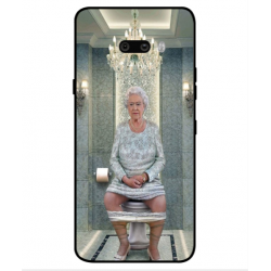 LG G8X ThinQ Her Majesty Queen Elizabeth On The Toilet Cover