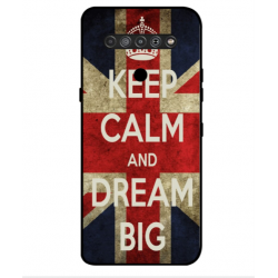 LG K51S Keep Calm And Dream Big Cover
