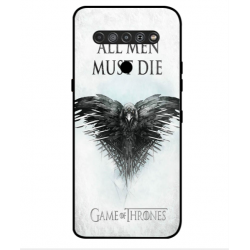 LG K51S All Men Must Die Cover