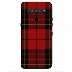 LG K61 Swedish Embroidery Cover