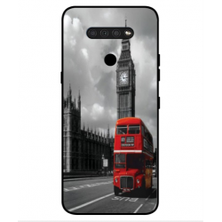 LG Q51 London Style Cover