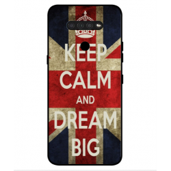 LG Q51 Keep Calm And Dream Big Cover