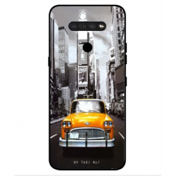 LG Q51 New York Taxi Cover