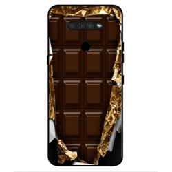 LG Q51 I Love Chocolate Cover