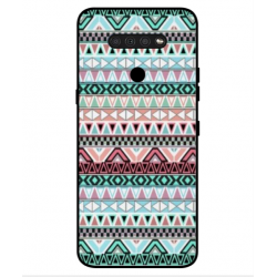 LG Q51 Mexican Embroidery Cover