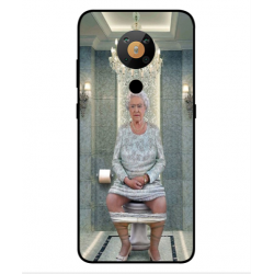 Nokia 5.3 Her Majesty Queen Elizabeth On The Toilet Cover