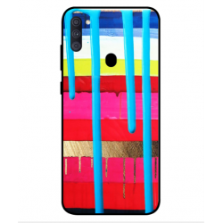 Samsung Galaxy A11 Brushstrokes Cover