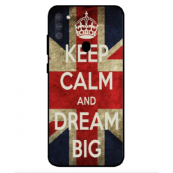 Samsung Galaxy A11 Keep Calm And Dream Big Cover