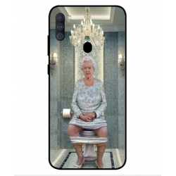 Samsung Galaxy A11 Her Majesty Queen Elizabeth On The Toilet Cover