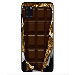 Samsung Galaxy A31 I Love Chocolate Cover