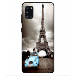Samsung Galaxy A31 Vintage Eiffel Tower Case