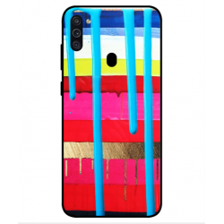 Samsung Galaxy M11 Brushstrokes Cover
