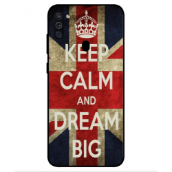 Samsung Galaxy M11 Keep Calm And Dream Big Cover