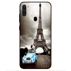 Samsung Galaxy M11 Vintage Eiffel Tower Case