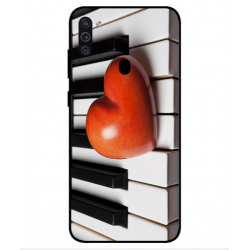 Samsung Galaxy M11 I Love Piano Cover