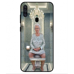 Samsung Galaxy M11 Her Majesty Queen Elizabeth On The Toilet Cover
