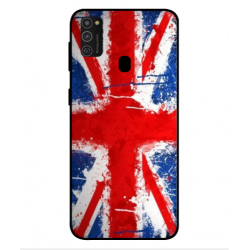 Samsung Galaxy M21 UK Brush Cover