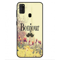Samsung Galaxy M21 Hello Paris Cover