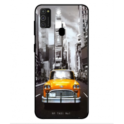 Samsung Galaxy M21 New York Taxi Cover