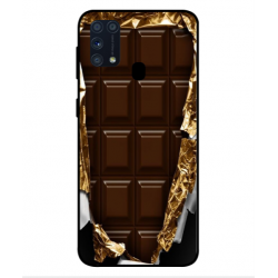 Samsung Galaxy M31 I Love Chocolate Cover