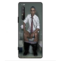 Sony Xperia 1 II Obama On The Toilet Cover