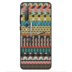 Xiaomi Mi 10 Pro 5G Mexican Embroidery With Clock Cover
