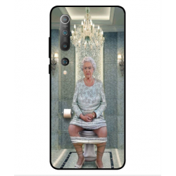 Xiaomi Mi 10 5G Her Majesty Queen Elizabeth On The Toilet Cover