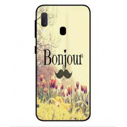 Samsung Galaxy A20e Hello Paris Cover
