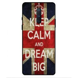 OnePlus 8 Keep Calm And Dream Big Cover
