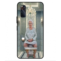 Vivo iQOO Neo3 Her Majesty Queen Elizabeth On The Toilet Cover