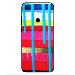 Huawei Honor 8A 2020 Brushstrokes Cover