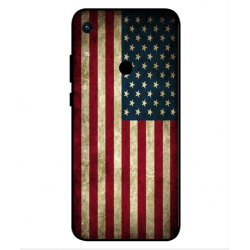 Coque Vintage America Pour Huawei Honor 8A 2020
