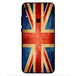 Coque Vintage UK Pour Huawei Honor 8A 2020
