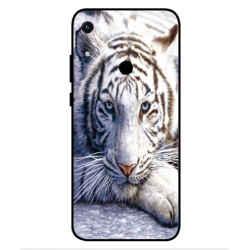 Coque Protection Tigre Blanc Pour Huawei Honor 8A 2020