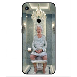 Huawei Honor 8A 2020 Her Majesty Queen Elizabeth On The Toilet Cover