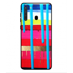 Samsung Galaxy A21 Brushstrokes Cover