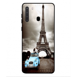 Samsung Galaxy A21 Vintage Eiffel Tower Case