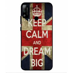 Coque Keep Calm And Dream Big Pour Huawei Honor Play 4T