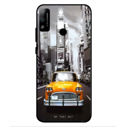 Coque New York Taxi Pour Huawei Honor Play 4T