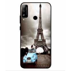 Coque Tour Eiffel Vintage Pour Huawei Honor Play 4T