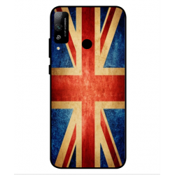 Coque Vintage UK Pour Huawei Honor Play 4T